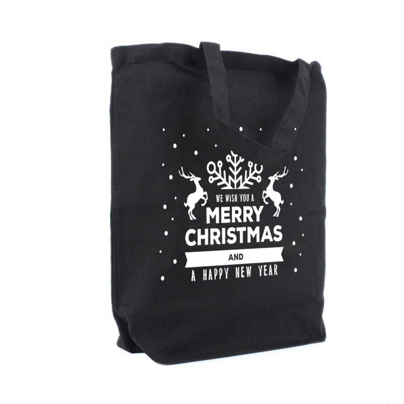 Best Wishes, noir tote