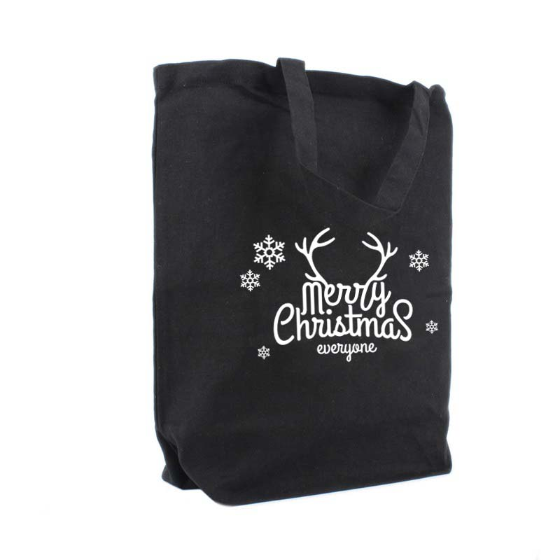 Merry Christmas, noir tote